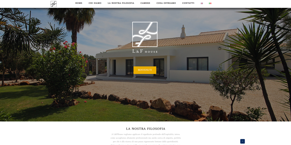 L&F House sito wordpress