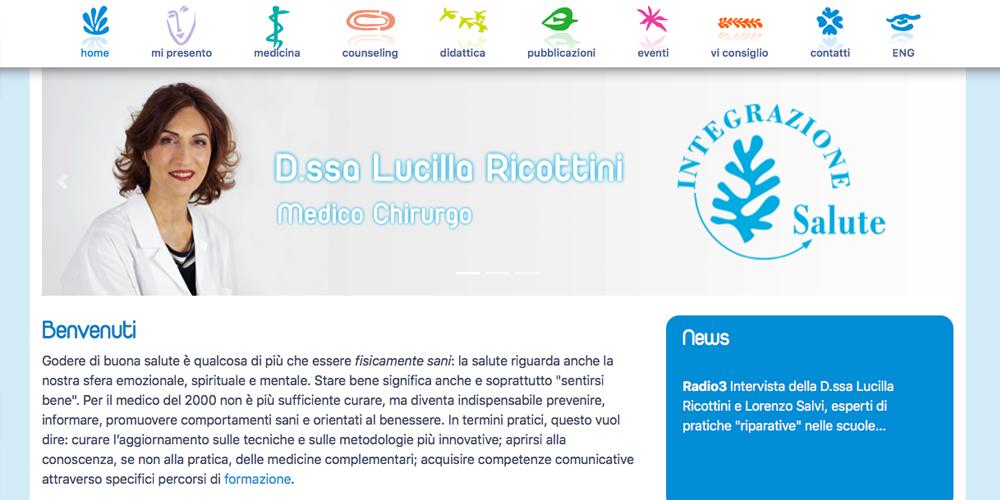 Dottoressa Lucilla Ricottini sito e gestionale