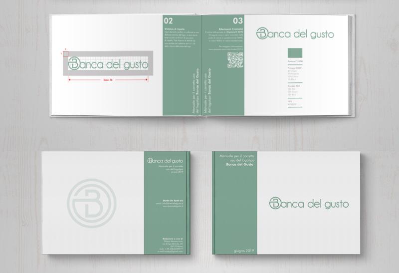 Banca del Gusto: immagine coordinata