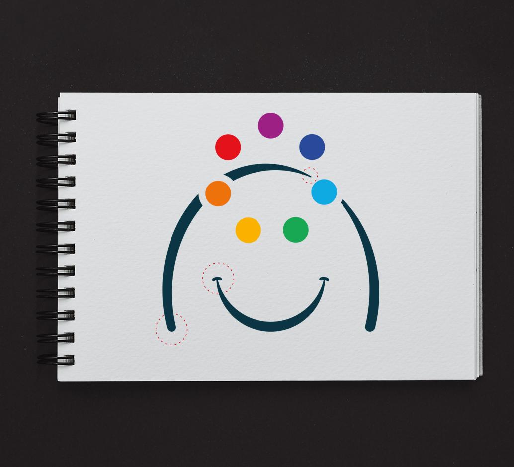 Logo Pachì. Lavoro sulla forma