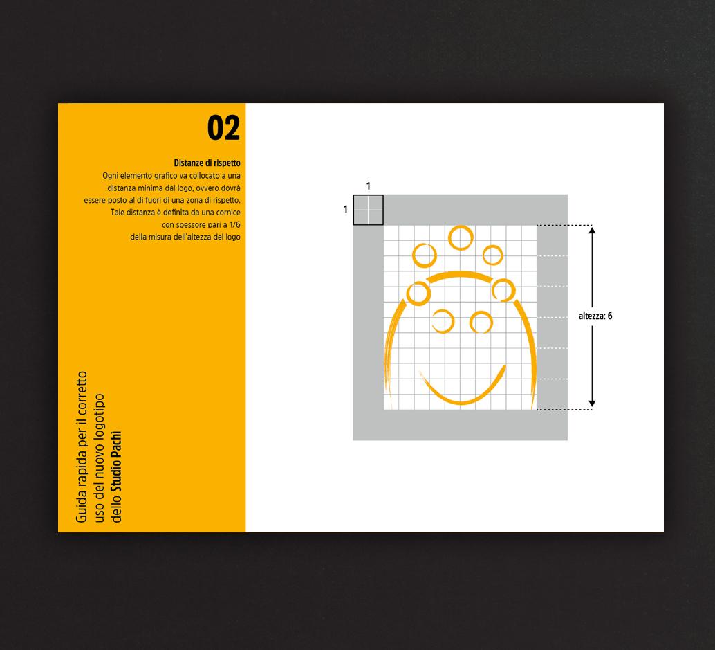 Logo Pachì. Proporzioni