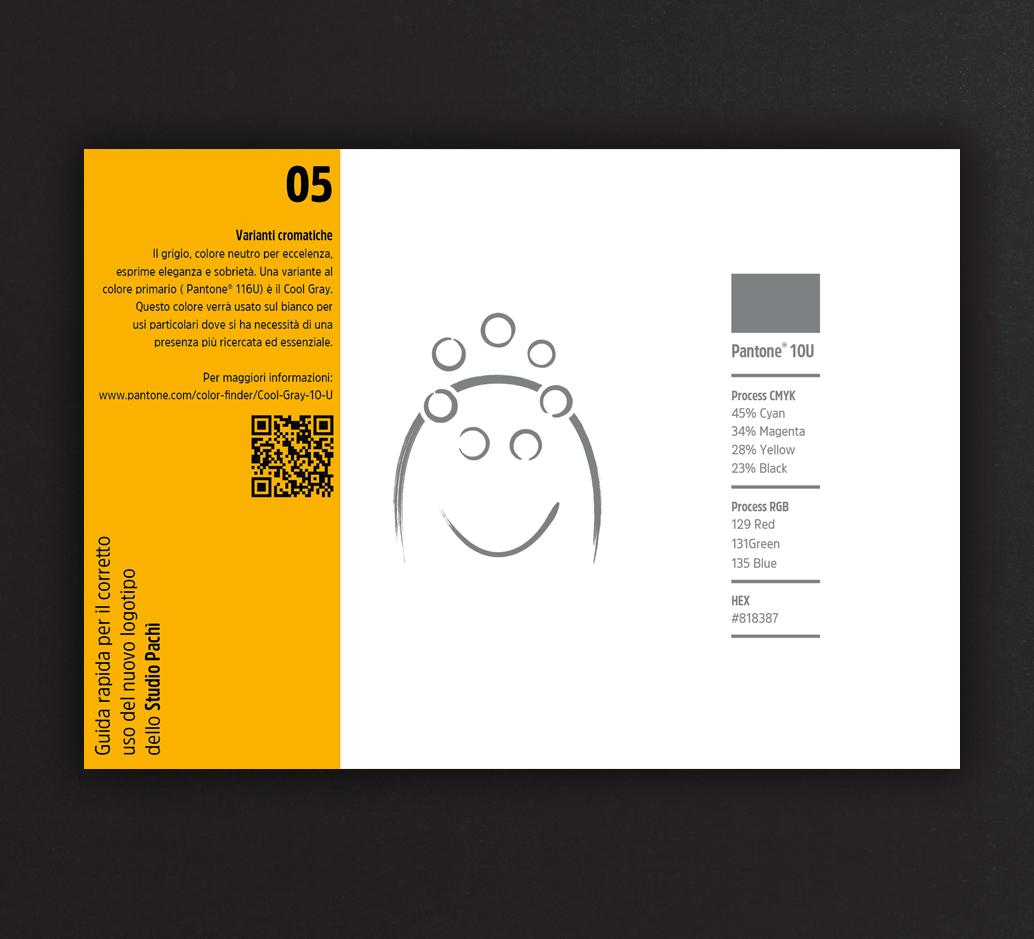 Logo Pachì. Codice colore