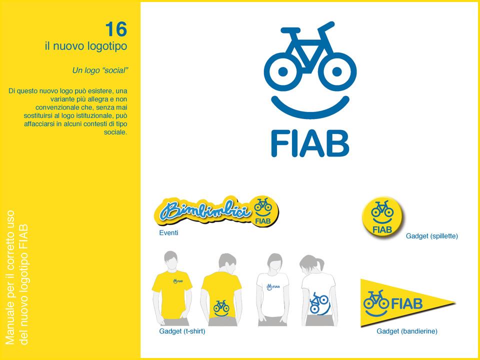 Manuale logo FIAB: variante social