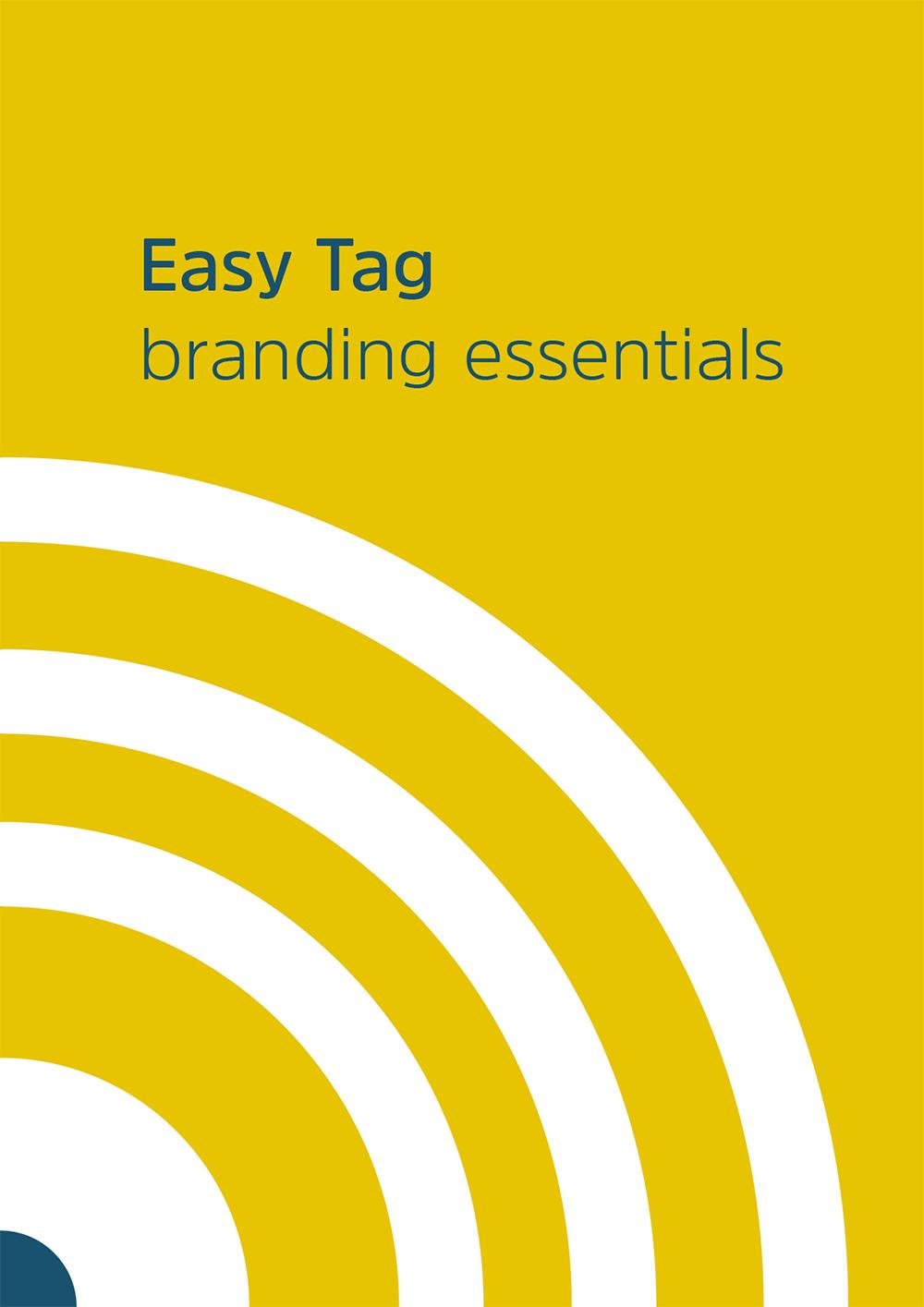 Logo Tag Easy. Guida essenziale per l'uso corretto del logo