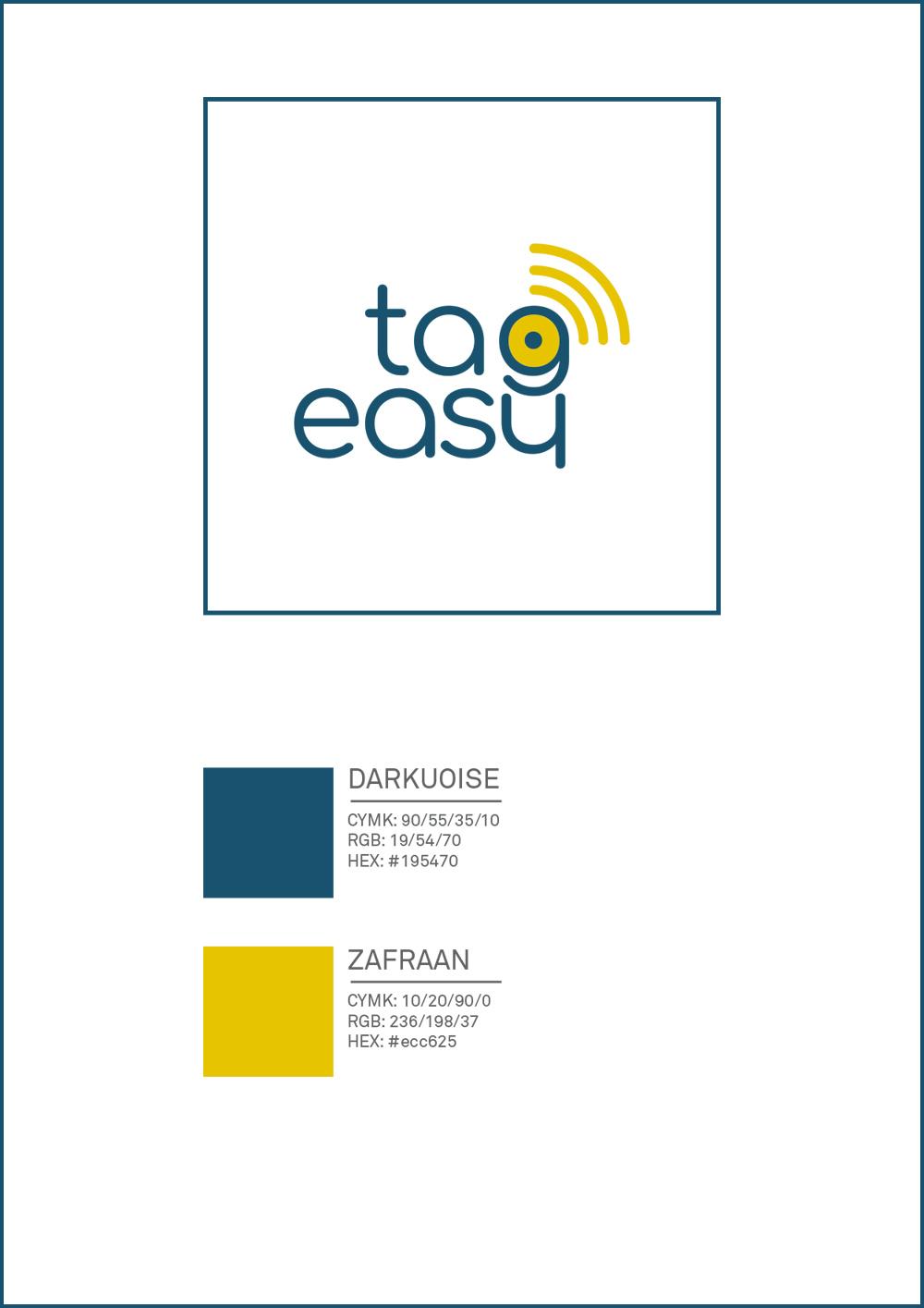Logo Tag Easy. Manuale: codici colore