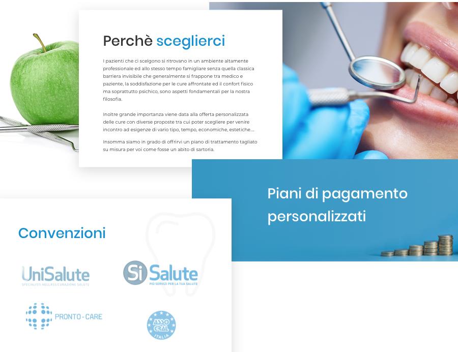 Dottor Gianluca della Rocca sito wordpress