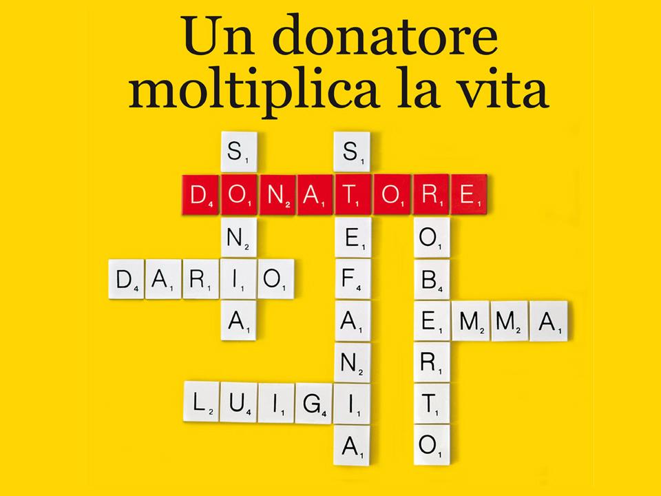 Centro Nazionale Trapianti Spot TV Un donatore moltiplica la vita