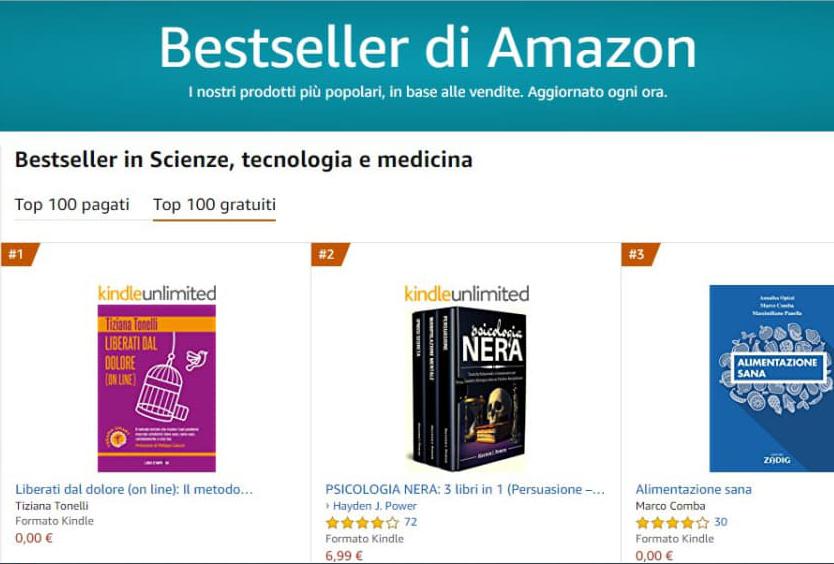 Best Seller di Amazon